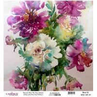 Suluboya Çiçek Pirinç Kağıt WFC028