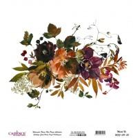 Suluboya Çiçek Pirinç Kağıt WFC001