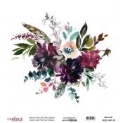 Suluboya Çiçek Pirinç Kağıt Koleksiyonu  (30)