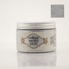 DR09 Gümüş Dora Perla Metalik Rölyef Pasta