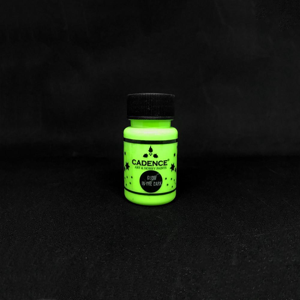 Glow İn Dark Karanlıkta Parlayan Boya Yeşil
