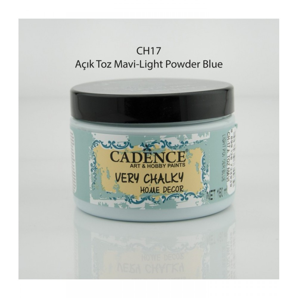 Açık Toz Mavi Very Chalky Home Decor 150ml