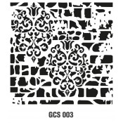 GCS GRUNGE STENCIL 45*45 CM (11)