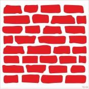 Taş Duvar Stencıl (6)